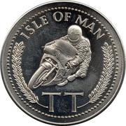 Token - Joey Dunlop (Triple T.T. Winner 1985) – reverse