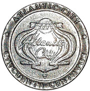 50 Centavos - Casino Atlantic City – obverse