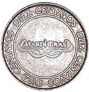 10 Centavos - Casino MardiGras – obverse