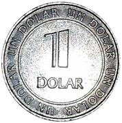 1 Dolar - Casino  MardiGras – reverse