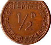 ½ Penny - E. Shephard Ltd (Gateshead) – obverse