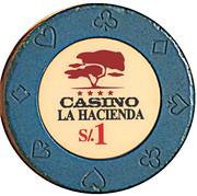 1 Sol - Casino La Hacienda – obverse