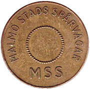 Transport Token - Malmo (L) – obverse