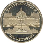 Token - Einigkeit und Recht und Freiheit (Berlin - Reichstag) – obverse