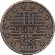 10 Euro - Formula 1 (Ralf Schumacher) – reverse