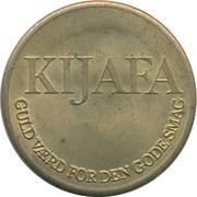 Token - Kijafa (Christiansborg Guinea) – reverse