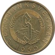 Token - Sparbanksveckan (Kaarlo Juho Ståhlberg) – reverse