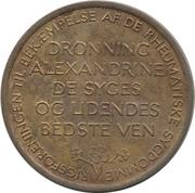 Token - Alexandrine – reverse