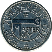 Amusement Token - Master Key – obverse