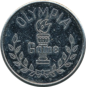 Amusement Token - Olympia Game – obverse