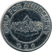 Amusement Token - Amugames (3 stars) – obverse