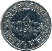 Amusement Token - Amugames (3 stars) – reverse