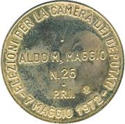 Token - Aldo M. Maggio – reverse
