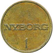 Token - Nyborg (1) – reverse