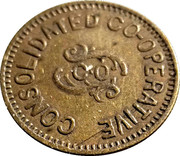 5 Cents - Consolidated Co-operative – obverse