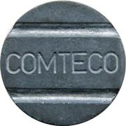 Telephone Token - COMTECO – obverse