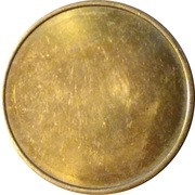 Blank Token (With rim; 27 mm) – obverse