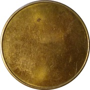 Blank Token (With rim; 27 mm) – reverse