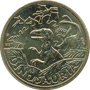 Token - Dinosauria (Brachiosaurus) – reverse