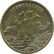 Token - Dinosauria (Stegosaurus) – obverse
