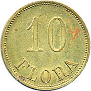 10 Flora – obverse