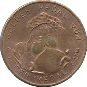 Golden Medal Gum (Swimming) – reverse