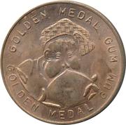 Golden Medal Gum (Gymnastics; bar) – reverse