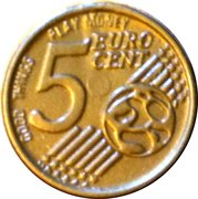 5 Euro Cent (Play money) – reverse