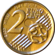 2 Euro Cent (Play money) – obverse