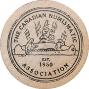 Token - The Canadian Numismatic Association – obverse