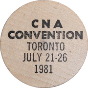 Token - The Canadian Numismatic Association – reverse