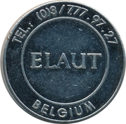 Amusement Token - Elaut – obverse