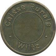 Safe deposit token - Caisse Rurale (Wiltz) – obverse