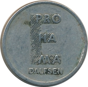 Token -  E Pro Ha Ma Dalfsen (Egberts Prohama) – obverse
