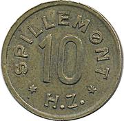 10 Spillemønt - HZ – obverse