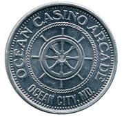 Casino Token - Ocean City MD – obverse