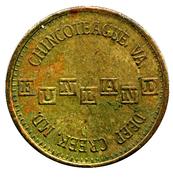 25 Cents - Funland (MD/VA) – obverse