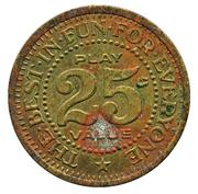 25 Cents - Funland (MD/VA) – reverse