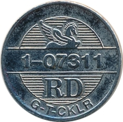 Token - Reader's Digest (RD 1-07311) – reverse