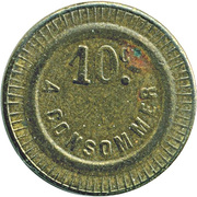 10 Cents A Consommer – obverse