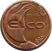 Token - Elco – obverse
