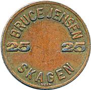 25 Øre - Bruce Jensen Skagen – obverse