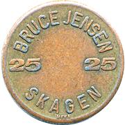 25 Øre - Bruce Jensen Skagen – reverse