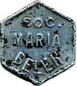 Token - Soc. Maria Belen vineyard – obverse