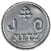 Token - J.O (Jeunes Ouvriers; Metz) – obverse