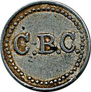 Wage Token - C.B.C. – obverse