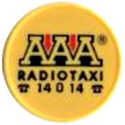 Shopping Cart Token - AAA Radiotaxi (23 mm) – obverse