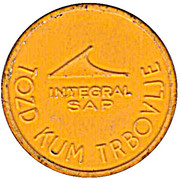 Token - Integral SAP Urban bus transport (Yellow) – obverse