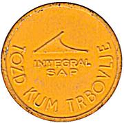Token - Integral SAP Urban bus transport (Yellow) – obverse