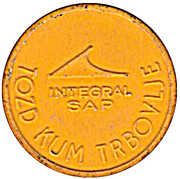Token - Integral SAP Urban bus transport (Yellow) – reverse